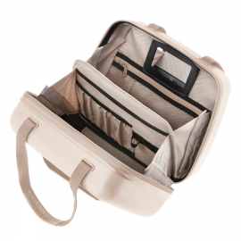 Geanta Cosmetice Policarbonat cod unic Okoban CarryOn Skyhopper 502434 Auriu