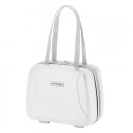 Geanta Cosmetice Policarbonat cod unic Okoban CarryOn Skyhopper 502436 Alb