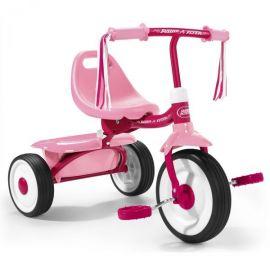 Tricicleta pliabila Radio Flyer Fold 2 Go Roz 1-3 ani
