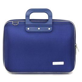 "Geanta lux business laptop 13"" Nylon Bombata Albastru Cobalt"