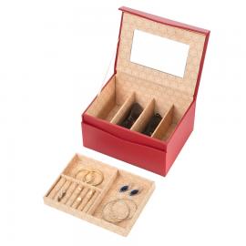Cutie de bijuterii Treasury Magnetic Red 906207