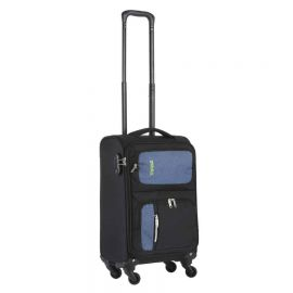 Troler Cabina cu USB TRAVELZ TRIPLE POCKET 55 cm