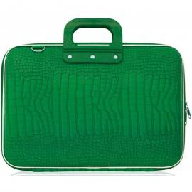 """Geanta lux business laptop 17"""" Cocco-Verde"""