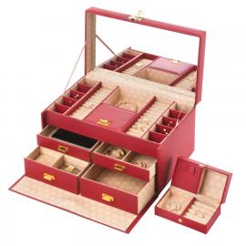 Cutie de bijuterii Treasury Deluxe Red 906217