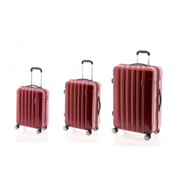 Set Trolere Policarbonat 4 Roti Duble GLADIATOR NEON LUX MG 24 3 Piese