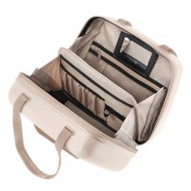 Geanta Cosmetice Policarbonat cod unic Okoban CarryOn Skyhopper 502434 Auriu produs resigilat