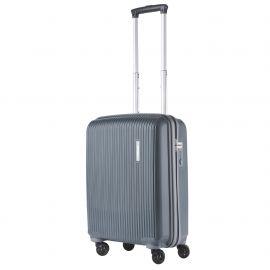 Troler Cabina Polipropilena 4 Roti Duble Cifru TSA TravelZ Vertical 601920 - 55 cm Antracit