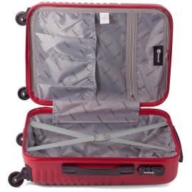 Troler Cabina ABS 4 Roti Benzi BZ 5580 - 53 cm Gri