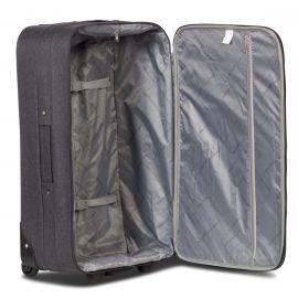 Troler Cabina, Worldpack, Boston, Poliester, 2 Roti, F10393 - 52 cm, Antracit