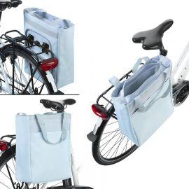 Geanta Bicicleta Termoizolanta, Poliester, Dutch Mountains, 18 L, 604391, Albastru deschis