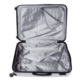 Troler Mare ABS 4 Roti LAMONZA Tivoli 76 cm Argintiu