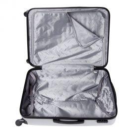 Troler Mediu ABS 4 Roti LAMONZA Tivoli 66 cm Argintiu