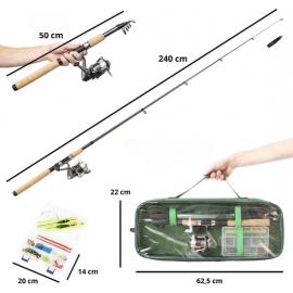 Set de pescuit MacGyver Big Fish 102279 produs resigilat