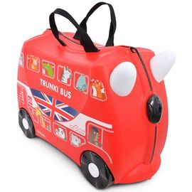 Troler copii Trunki Boris - London Bus - 46 cm