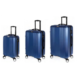 Set Trolere Policarbonat/ABS 4 Roti Duble STELXIS ST 510 3 Piese