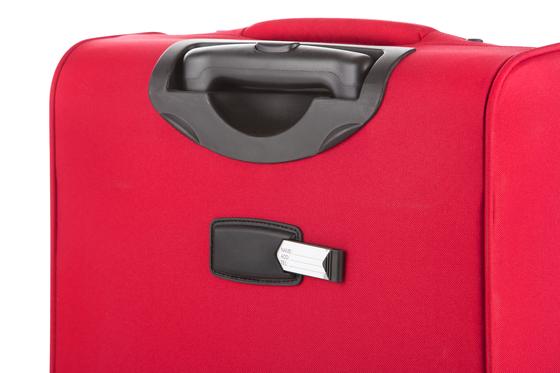 Troler Mediu Expandabil 4 Roti CarryOn AIR 67 cm Rosu