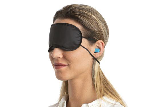 Set Ochelari + Dopuri de urechi pentru dormit