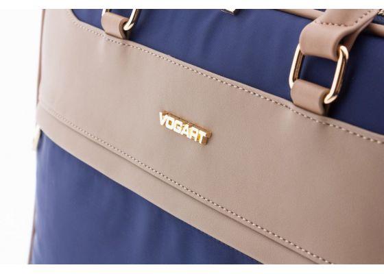 "Geanta Laptop PVC/Nylon VOGART ELITE MV 23752 15"" Bleumarin"