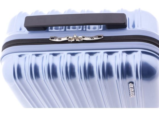 Geanta cosmetice Policarbonat GLADIATOR NEON LUX MG 2496 Albastru Deschis