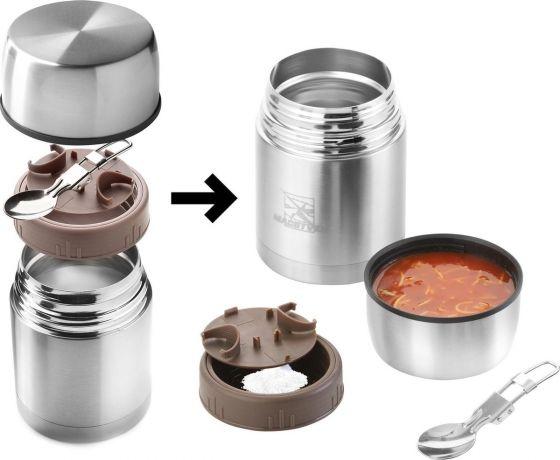 Recipient alimentar din otel inoxidabil 600 ml MacGyver 102235