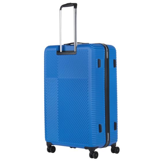 Set Trolere ABS/PC, Cifru TSA, CarryOn CONNECT, 2 Piese, Albastru