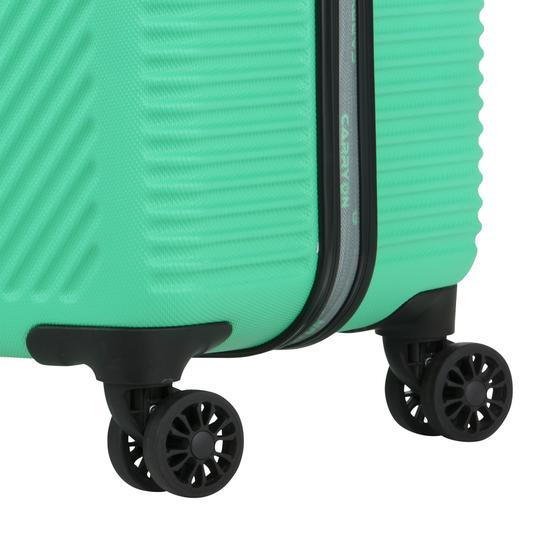 Set Trolere ABS/PC, Cifru TSA, Cod unic OKOBAN, CarryOn CONNECT, 2 Piese, Verde