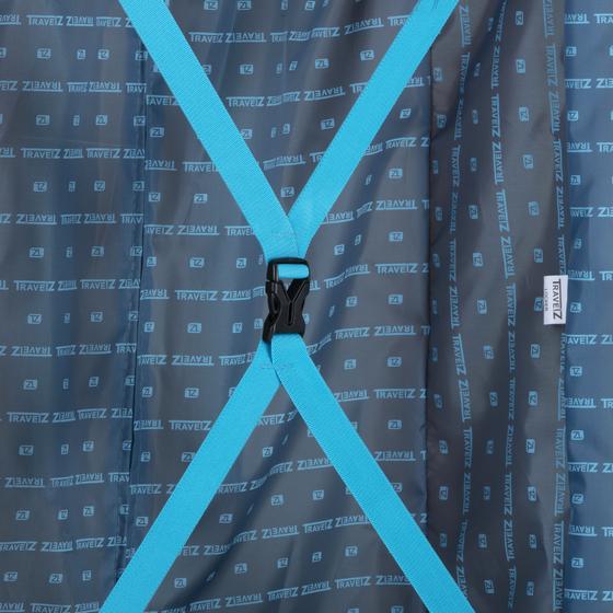 Troler Mare Polipropilena inchidere cu clapeta TravelZ Locker 76 cm Galben