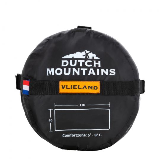 Sac de dormit Dutch Mountains Vlieland 101245 Kaki 210 x 80 cm