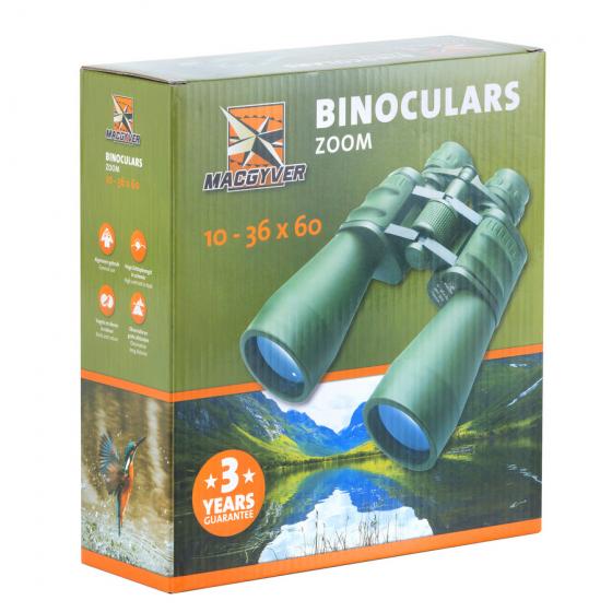Binoclu MacGyver 10-30 x 60 ZOOM BK7 - 701066