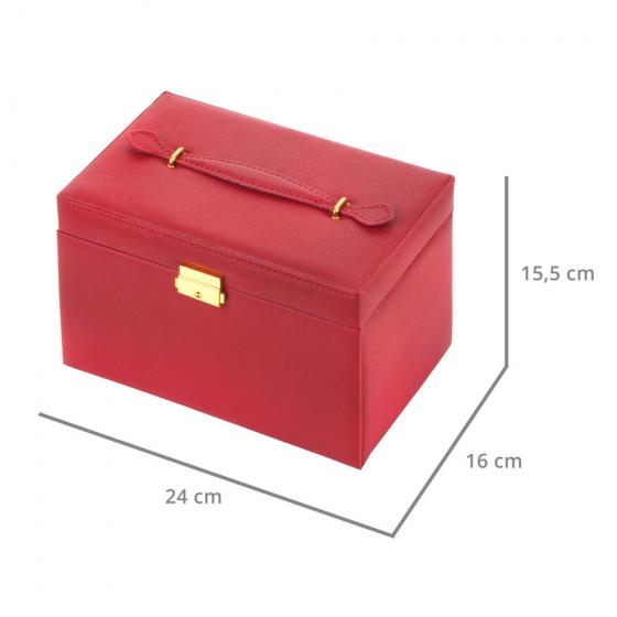Cutie de bijuterii Treasury Classic Red 906213