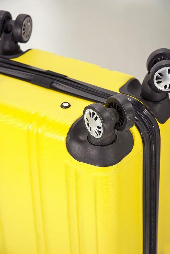 Troler Cabina ABS 4 Roti Duble BENZI BZ 5154 - 56 cm