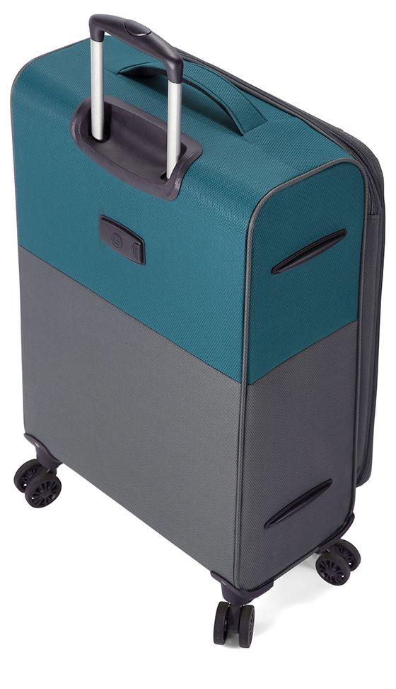 Troler Mediu TSA 4 Roti Duble BENZI BZ 5389 - 67 cm